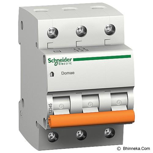 SCHNEIDER ELECTRIC MCB Domae 3 Kutub [DOM11353SNI] - Miniature Circuit Breaker / MCB